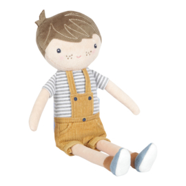 Knuffelpop Jim 35 cm - Little Dutch