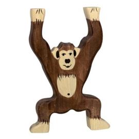 Houten chimpansee 9 cm - Holztiger