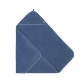 Badcape badstof jeans blue - Jollein