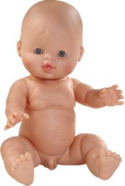 Pop Gordi jongen (blank)  34 cm