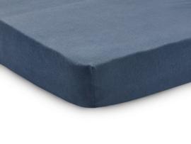 Hoeslaken jersey 60x120cm Jeans blue - Jollein
