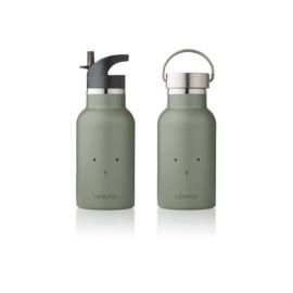 Water- en thermosfles Rabbit faune green - Liewood