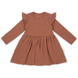 Siff dress choco bean - Konges Sløjd