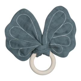 Vlinder bijtring blauw - Fabelab