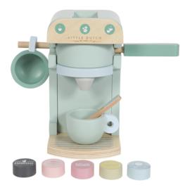 Houten koffiezetapparaat met of zonder naam - Little dutch