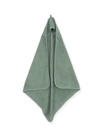Badcape badstof ash green - Jollein