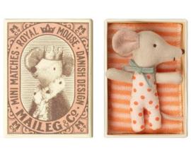 Babymuis in doosje meisje - Maileg