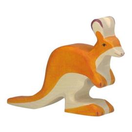 Houten kangoeroe kleine 12,5 cm - Holztiger