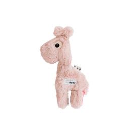 Knuffel giraf raffi roze - Done by Deer