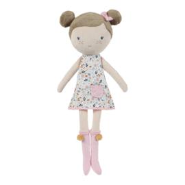 Knuffelpop Rosa 50 cm - Little Dutch