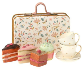 Cake set in suitcase - Maileg