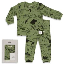 Feetje pyjama Dino Drew Army - Feetje