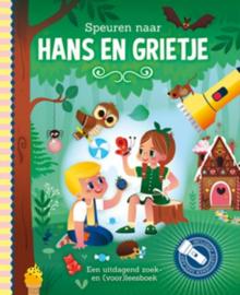 Zaklampboek Speuren naar  Hans en Grietje