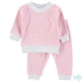 Feetje pyjama wafel Roze - Feetje