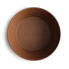 Kommen rond Caramel 2-pack - Mushie