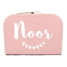 Koffertje met naam - takje