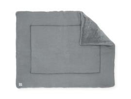 Boxkleed 80x100cm Basic knit stone grey - Jollein