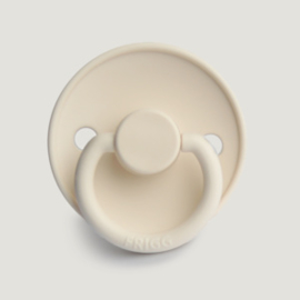 Frigg fopspeen siliconen Classic Cream - Maat 1