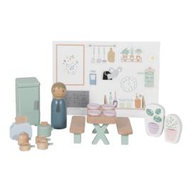 Poppenhuis uitbreiding keuken - Little dutch