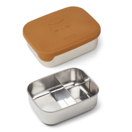 Arthur Lunch Box Cat mustard - Liewood