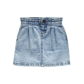 Denim Paperbag Skirt - Your Wishes