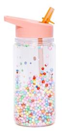 Drinkfles marcaron pops soft coral - Petit Monkey