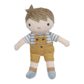 Knuffelpop Jim 10 cm - Little Dutch