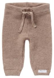 Pants Knit Grover Taupe Melange - Noppies