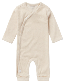 Playsuit Rib Nevis Oatmeal - Noppies