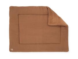 Boxkleed 80x100cm Basic knit caramel - Jollein