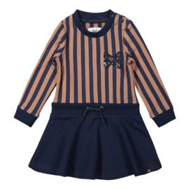 Girls Dress Camel/navy - Koko Noko
