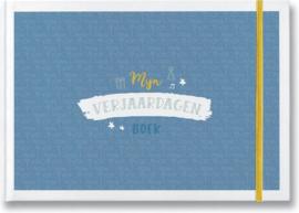 Mijn verjaardagenboek blauw - Maan Amsterdam