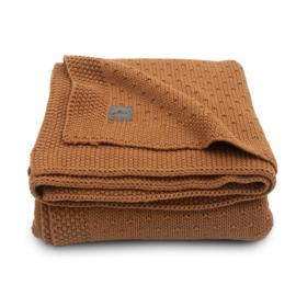 Deken 75x100cm Bliss knit caramel - Jollein