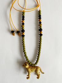 Lev het luipaard ketting - ByMelo
