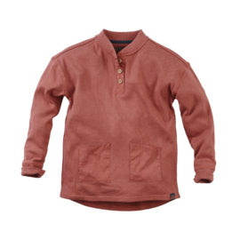 Sweater Mitch Red rust - Z8