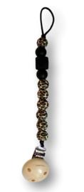 Chewie Clip - Leopard zwart