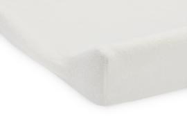 Aankleedkussenhoes badstof 50x70cm ivory - Jollein