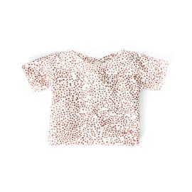 Poppenshirtje – Korte mouw Dots