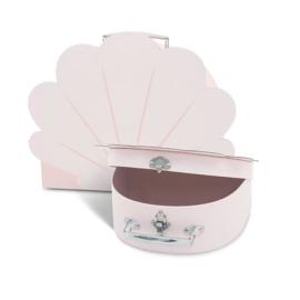 Speelkoffertje shell pale pink (2pack) - Jollein