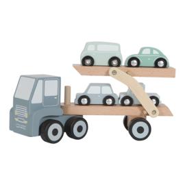 Houten transportwagen met of zonder naam - Little dutch