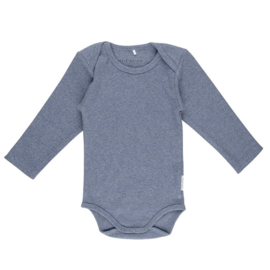 Romper lange mouw Blue Melange - Little Dutch