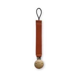 Leren speenkoord cognac - The Natural Collection