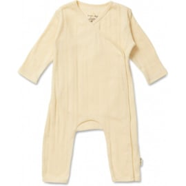 Newborn onesie Minnie Lemon sorbet - Konges Sløjd