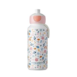Drinkfles pop-up 400 ml Spring Flowers - Little Dutch x Mepal