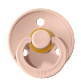 Bibs fopspeen natuurrubber Blush - Maat 1