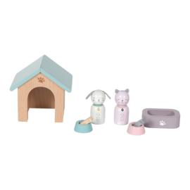 Poppenhuis uitbreiding huisdieren - Little dutch