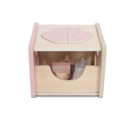 Vormenstoof - Schelp - Pink met of zonder naam - Jollein