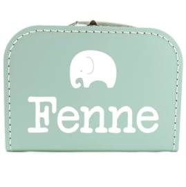 Koffertje met naam olifant