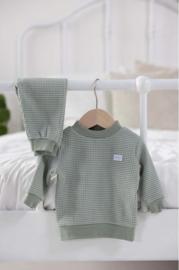 Feetje pyjama wafel groen Summer special - Feetje