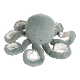 Knuffel octopus ocean mint - Little dutch